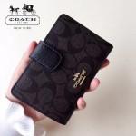 COACH-53562 人氣熱銷時尚潮流多卡位女士中長款錢包