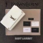YSL 466300 專櫃新品kate bag白色原版牛皮單肩斜挎包