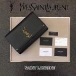 YSL 466300-2 專櫃新品kate bag黑色原版牛皮單肩斜挎包