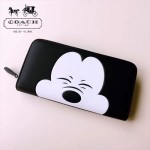 COACH-F54000-2 原單立體圖案迪士尼與蔻馳合作款系列錢包