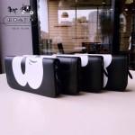 COACH-F54000-3 原單立體圖案迪士尼與蔻馳合作款系列錢包