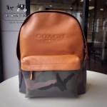 COACH-72344 COACH迷彩元素男士時尚休閒雙肩背包