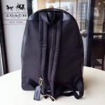 COACH-F38301 新款pvc拼皮材質經典C紋款女士雙肩背包