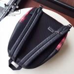 COACH-F55394-2 蘇格蘭風格配皮頭層牛皮容量超大雙肩包背包