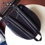 COACH-F55394 蘇格蘭風格配皮頭層牛皮容量超大雙肩包背包
