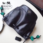 COACH-F57543-2 頭層牛皮可愛新款水桶包女士斜挎包