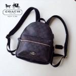 COACH-38302 原單專櫃同款最新主打PVC配皮潮流時尚迷你背包