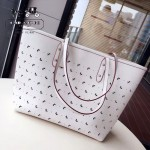 COACH-59345 新款蝴蝶沖孔大容量女士時尚購物袋