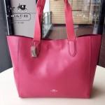 COACH-58660-3 專櫃新款軟皮實用大號托特tote女士手提包