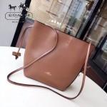 COACH-F58661-2 原單全牛皮簡單時尚女士購物包