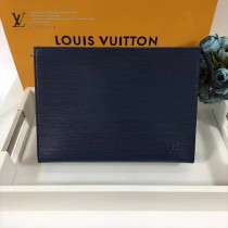 LV-M47542 原版皮盥洗袋EPI牛皮水波紋最新款手包化妝包