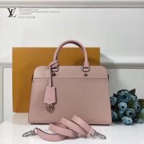 LV-M51239-2 中號手袋新款標誌性Epi皮革與Cuir Ecume牛皮混合材質手提單肩包