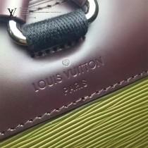 LV M41397-9 小包總陽爍同款CHRISTOPHER原單拼色水波紋配老花圖案雙肩包登山包