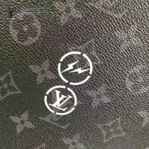 LV M43417 商務男士藤原浩聯名款CABAS LIGHT黑色老花束口手提購物袋