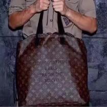 LV M43417-2 商務男士藤原浩聯名款CABAS LIGHT原單經典老花束口手提購物袋
