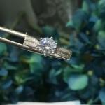 Tiffany飾品-014 17年新款星光鉆款925純銀進口鋯石戒指