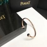 PIAGET飾品-03-4 時尚單品女士黑瑪瑙材質電鍍18k金開口手鐲