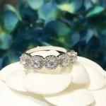 Tiffany飾品-015 人氣熱銷新品星光鉆款925純銀進口鋯石鑽戒