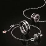 BVLGARI 飾品-003 小紅人慈善款項鏈手鏈情侶款專櫃同步新款亞金材質戒指手鏈項鏈