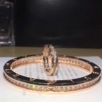 Bvlgari飾品-027 專櫃同步B.zero1系列亞金電鍍18K一圈鉆手鐲戒指套裝