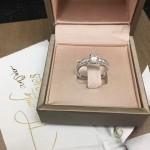 Bvlgari飾品-028 寶格麗經典款925純銀克拉鑽石戒指