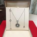 Bvlgari飾品-024-3 寶格麗時來運轉可旋轉925純銀材質項鏈