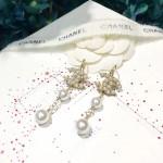 CHANEL 飾品-014 香奈兒新款雙C系列珍珠耳環