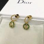 DIOR飾品-011-5 angelbaby同款高級珠寶羅盤玫瑰系列18K金材質耳釘