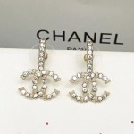 CHANEL 飾品-016 最新款女神必備鑽石款雙C系列耳釘