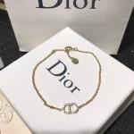 DIOR飾品-010-2 秋冬新款Ciair D Lune925純銀CD施華洛世奇鑽石手鏈