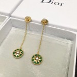 DIOR飾品-011-6 angelbaby同款高級珠寶羅盤玫瑰系列18K金材質耳釘