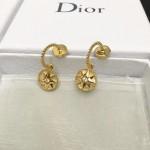 DIOR飾品-011-3 angelbaby同款高級珠寶羅盤玫瑰系列18K金材質耳釘