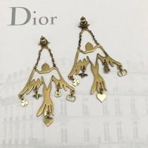 DIOR 飾品-027 2017年新品D BOH MIENNT 燕子系列黃銅材質耳環