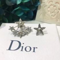 DIOR飾品-012 迪奧最新款個性百搭高品質星星滿鑽耳釘