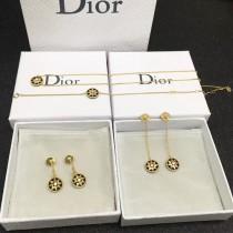 DIOR飾品-011-10 angelbaby同款高級珠寶羅盤玫瑰系列18K金材質耳釘