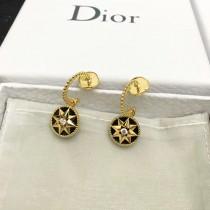 DIOR飾品-011-9 angelbaby同款高級珠寶羅盤玫瑰系列18K金材質耳釘