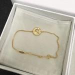 DIOR飾品-011 angelbaby同款高級珠寶羅盤玫瑰系列18K金手鏈