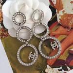 CHANEL 飾品-017 官網最新款人氣熱銷女神必備鑽石耳環