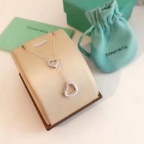 Tiffany飾品-017-2 蒂芙尼夏日新品女士open heart925純銀材質愛心造型項鏈