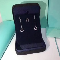 Tiffany飾品-017 蒂芙尼夏日新品女士open heart925純銀材質愛心造型耳環