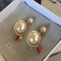 DIOR 飾品-034-2 最新色時尚潮流女士TRIBLE耳釘