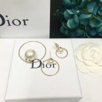 DIOR 飾品-038-2 迪奧最新款時尚潮流大方圓圈耳釘