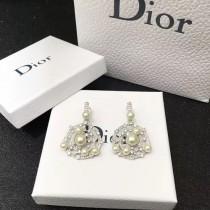 DIOR 飾品-030 2017年最新款珍珠系列帶鉆劉鈺懿同款耳釘