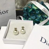 DIOR 飾品-037 迪奧最新簡單時尚珍珠款女士耳釘