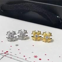 Chrome Hearts飾品-07 專櫃同步新款原版18K金真鑽打造亞金材質耳釘
