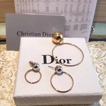DIOR 飾品-038 迪奧最新款時尚潮流大方圓圈耳釘