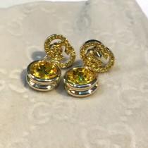 GUCCI 飾品-042-2 粉鑽簡單大方百搭款精緻精美耳釘