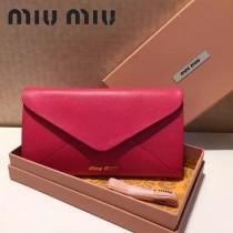 MIUMIU 5M1406 定制級madras馬德拉斯山羊皮198代工女士長款信封包