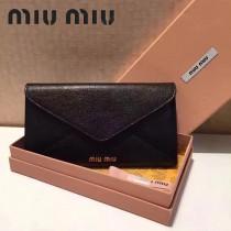MIUMIU 5M1406-2 定制級madras馬德拉斯山羊皮198代工女士長款信封包