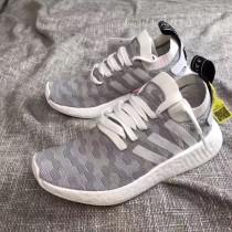 ADIDAS-34-3 人氣新款adidas NMD R2 Primeknit真標真爆版本女款休閒運動跑步鞋